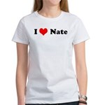 I Love Nate Women's T-Shirt
