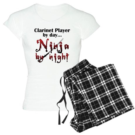 Clarinet Ninja Women's Light Pajamas
