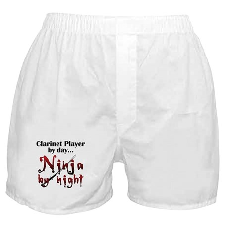 Clarinet Ninja Boxer Shorts