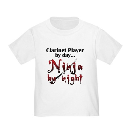Clarinet Ninja Toddler T-Shirt