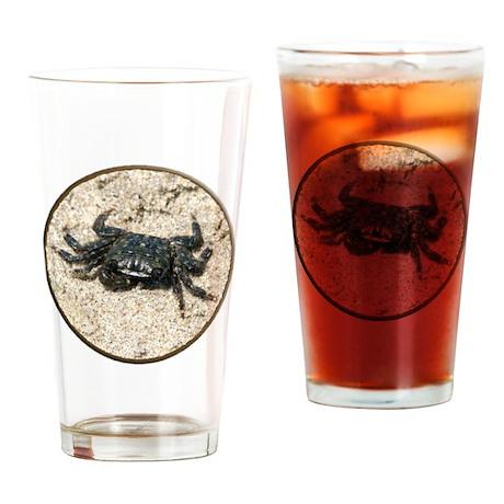 Helaine's Crab Pint Glass