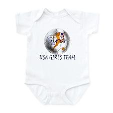 USA Girls Team Infant Bodysuit
