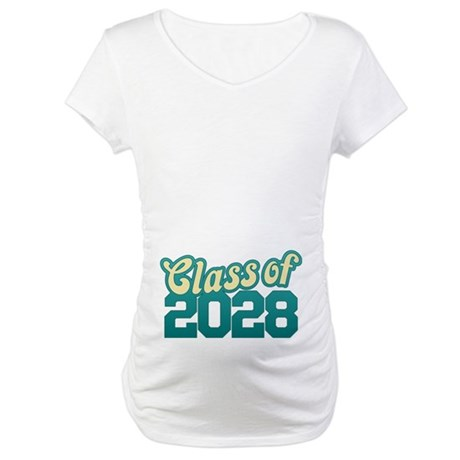 Class of 2028 Maternity T-Shirt