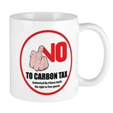 No Carbon Tax - Mug