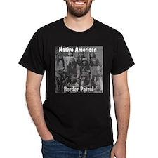 Border Patrol Black T-Shirt