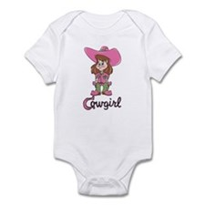Cute Cowgirl Infant Creeper