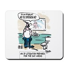 IP Litigator's Mousepad