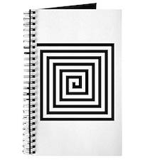 Squared Spiral Symbol Journal