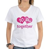 10th Anniversary Hearts Shirt