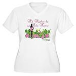 Twilight Isle Esme Women's Plus Size V-Neck T-Shir