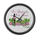 Twilight Isle Esme Large Wall Clock