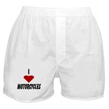I Heart Motorcycles Boxer Shorts