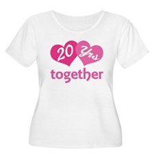20th Anniversary Hearts T-Shirt