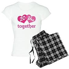 20th Anniversary Hearts Pajamas