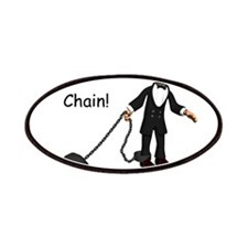 Ball and chain Patches