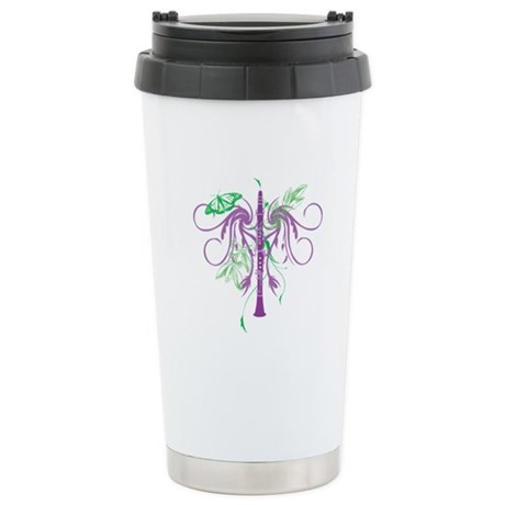 Fantasy Clarinet Ceramic Travel Mug