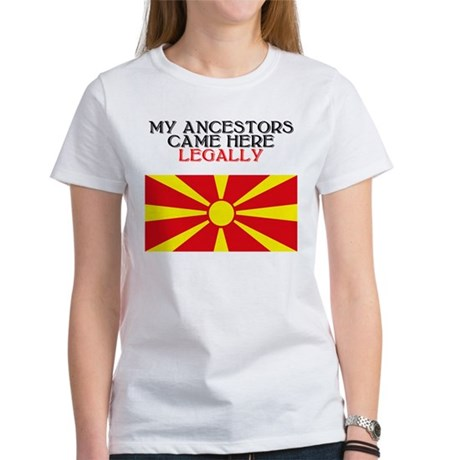 Macedonian Heritage Women's T-Shirt