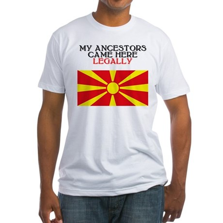 Macedonian Heritage Fitted T-Shirt