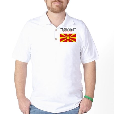 Macedonian Heritage Golf Shirt