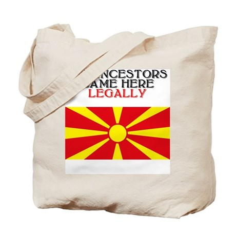 Macedonian Heritage Tote Bag