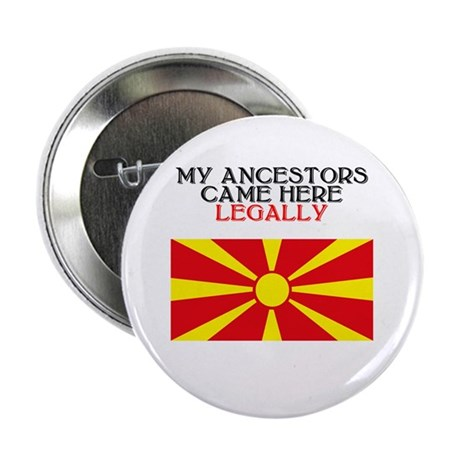 "Macedonian Heritage 2.25"" Button (10 pack)"