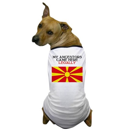 Macedonian Heritage Dog T-Shirt