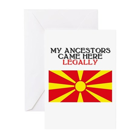Macedonian Heritage Greeting Cards (Pk of 10)