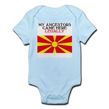 Macedonian Heritage Infant Creeper
