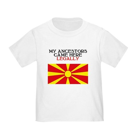 Macedonian Heritage Toddler T-Shirt