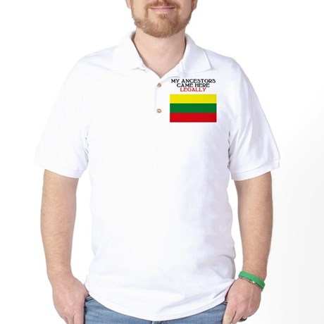 Lithuanian Heritage Golf Shirt