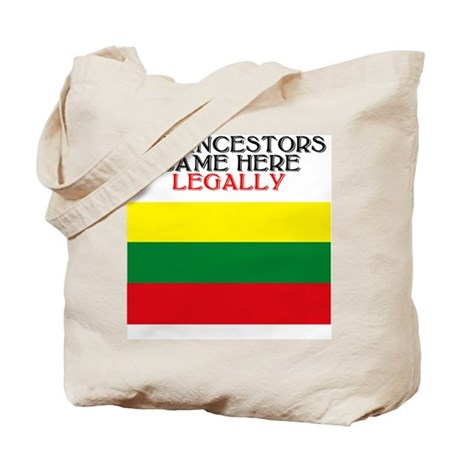 Lithuanian Heritage Tote Bag