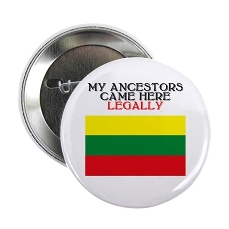 "Lithuanian Heritage 2.25"" Button (10 pack)"