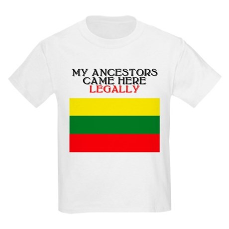 Lithuanian Heritage Kids T-Shirt