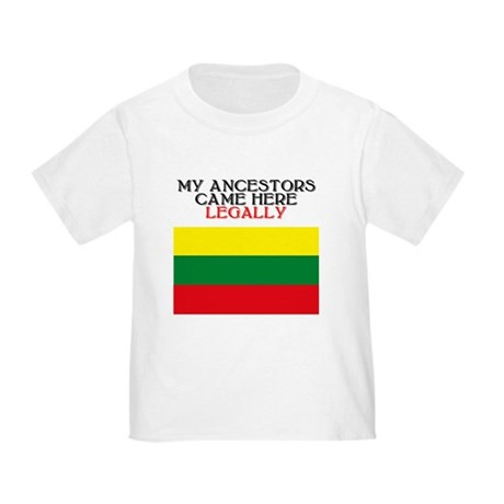 Lithuanian Heritage Toddler T-Shirt