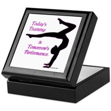 Gymnastics Keepsake Box - Training