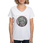 Splash Tumbler Head Women's V-Neck T-Shirt