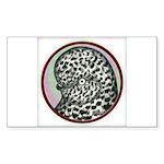 Splash Tumbler Head Sticker (Rectangle 50 pk)