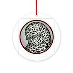 Splash Tumbler Head Ornament (Round)