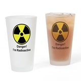Radioactive Pint Glass