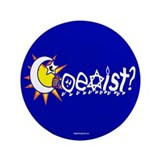 "Coexist? 3.5"" Button (100 pack)"