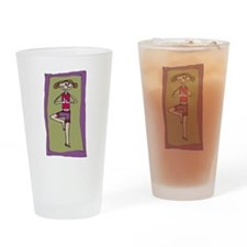 tree pose - Pint Glass