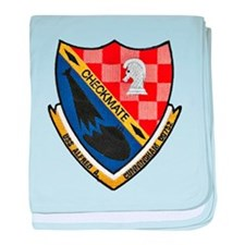 USS ALFRED A. CUNNINGHAM baby blanket