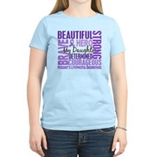 I Wear Violet 46 Hodgkin's Lymphoma T-Shirt