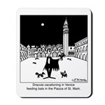 Dracula Vacationing In Venice Mousepad