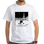 Dracula Vacationing In Venice White T-Shirt