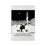 Dracula Vacationing In Venice Rectangle Magnet (10