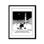 Dracula Vacationing In Venice Framed Panel Print