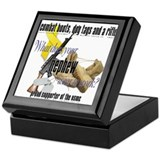 USMC What Does Your Nephew Wear? Keepsake Box