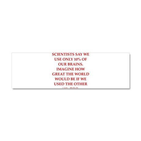 mat jokes Car Magnet 10 x 3
