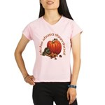 Gaelic Pumpkin Scene Women's Sports T-Shirt